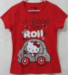 Baju anak Hello kitty glitter (1T-6T)