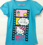 baju anak hello kitty biru film (1T-6T)