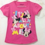 baju anak minnie mouse disney pink (1T-6T)
