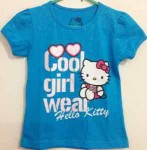 Kaos anak  hello kitty blue cool 1T-6T