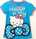 baju anak hello kitty pita biru (7T-10T)