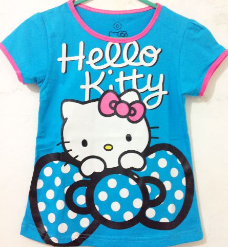 kaos-anak-karakter-hello-kitty-