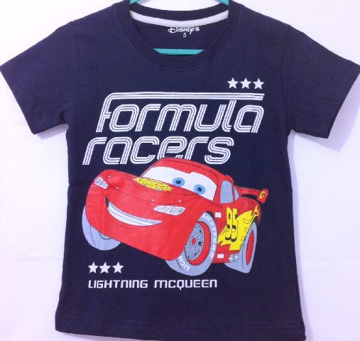 kaos-anak-lightning-mc-queen CARS