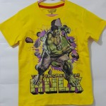 (1T-6T) baju anak branded INCREDIBLE HULK kuning