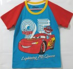 baju anak cars lighting MCQUEEN ( 1-6T)