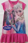 baju anak daster frozen elsa together pink(1-6)