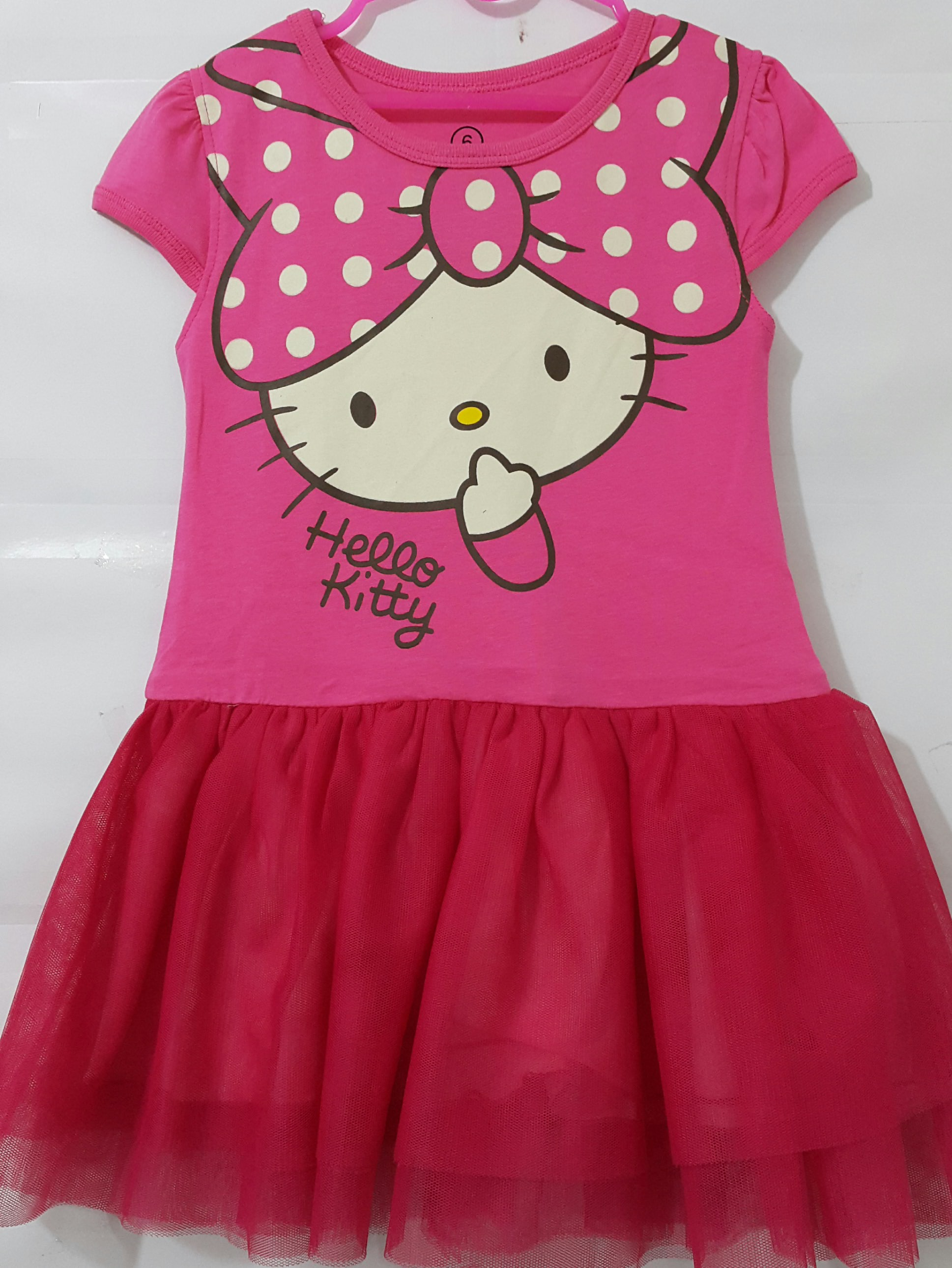 dress tutu Hello kitty pink