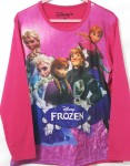 baju anak frozen together pink lengan panjang ( 4-14T)
