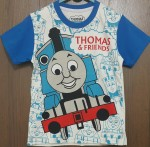 kaos anak thomas and friends biru ( 1-6)