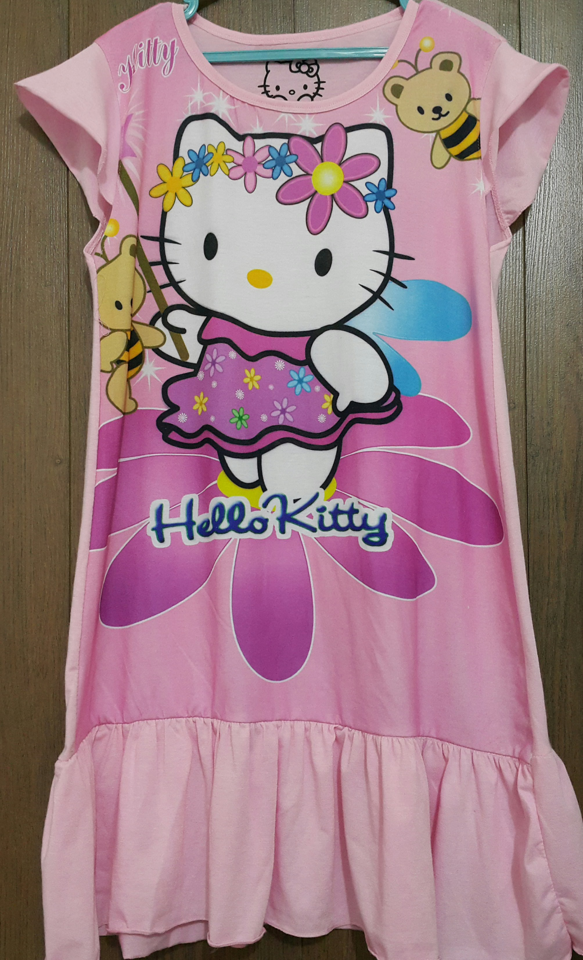 daster hello kitty pink muda