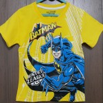 baju anak batman justice league kuning (1-6)