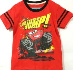 baju anak red car mcqueen jump (1-6)