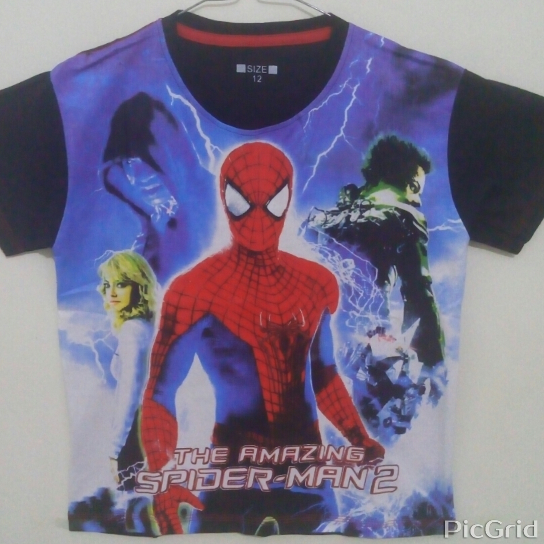baju anak amazing spiderman