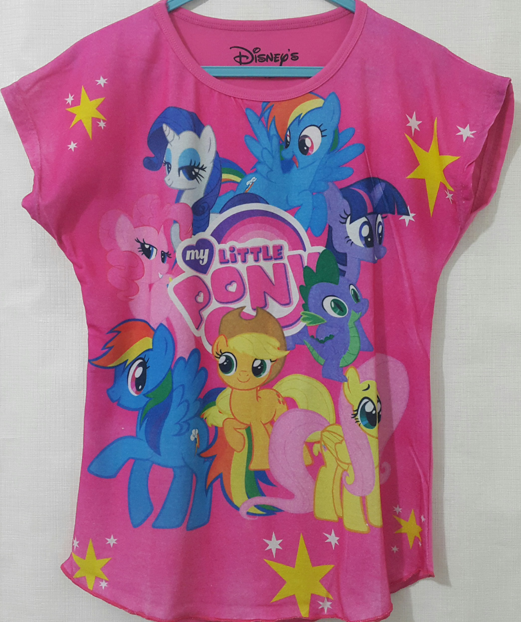 batwing little pony pink