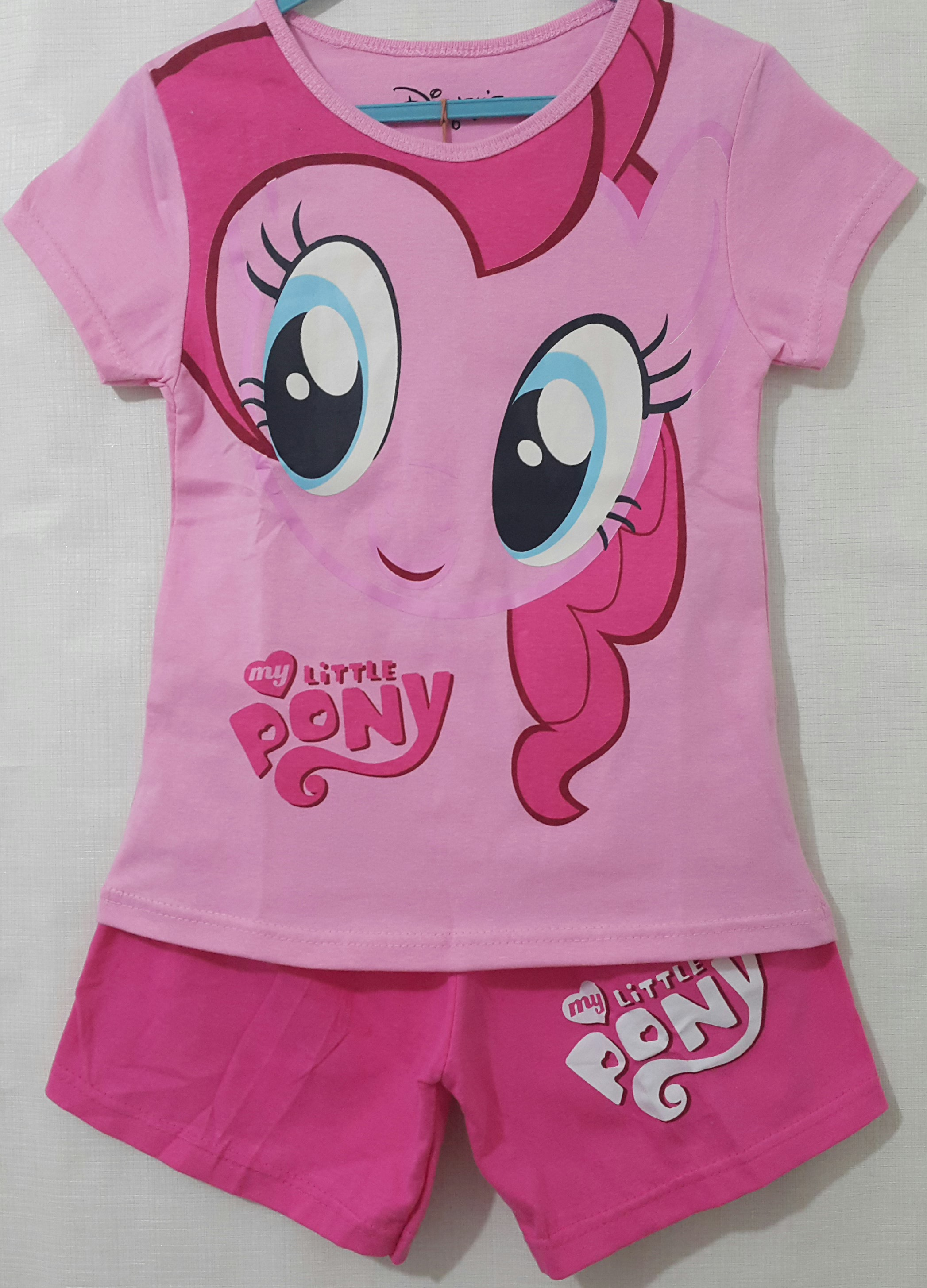 setelan little pony pink