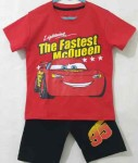 setelan lightning mcqueen red (1-6)