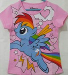 kaos anak little pony pink alone(1-6)