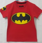 kaos anak batman logo red ( 1-6)