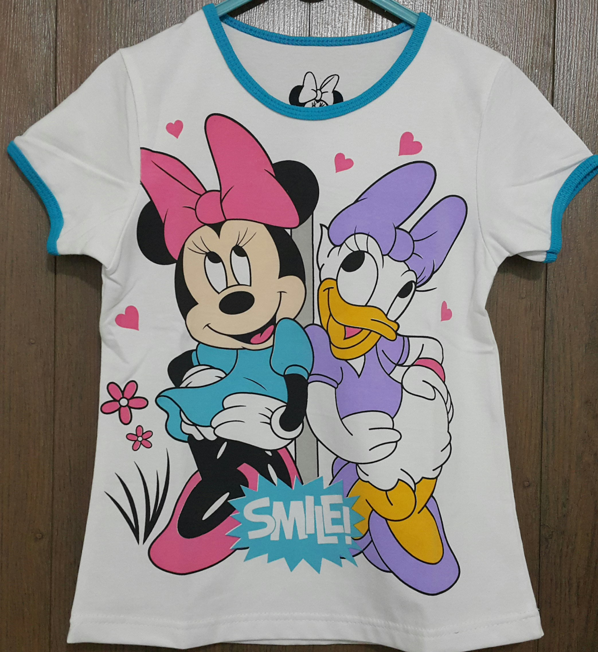 kaos anak minnie mouse daisy duck