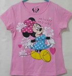 kaos anak minnie mouse flower pink(1-6)
