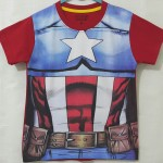 kaos captain america body costum (1-6)