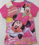 kaos minnie mouse swing pink full color(1-6)