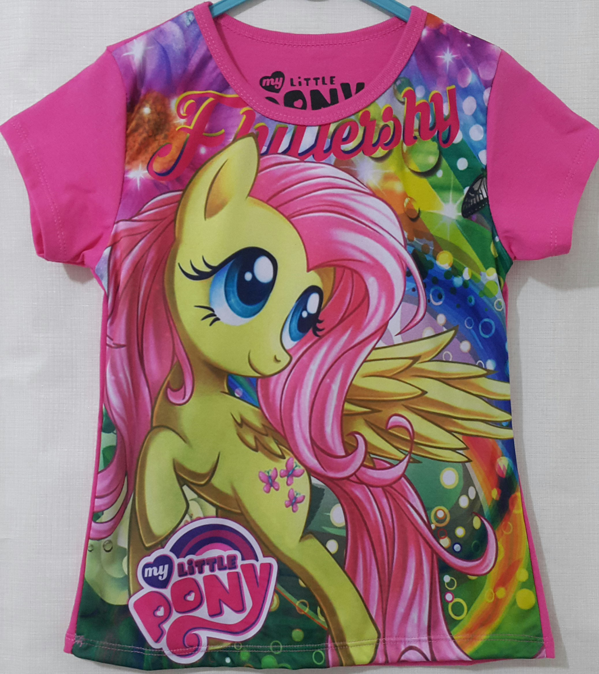 kaos little pony full print pink