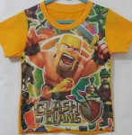 kaos clash of clans yellow (1-6)
