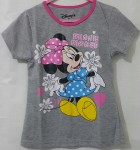 kaos anak minnie mouse abu misty ( 1-6)