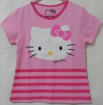 kaos anak hello kitty pink salur (1-6)