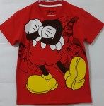 Kaos mickey mouse red (1-6)