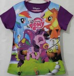 Kaos my little pony ungu (1-6) disney