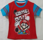 kaos anak game on mario bros (1-6)