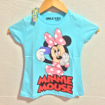 kaos minnie mouse selfie (1-6) smile kids