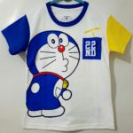 kaos doraemon 22nd 1-6 (disneys)