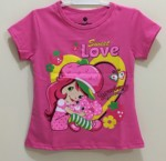 kaos strawberry shortcake fanta 1-6 ,disney