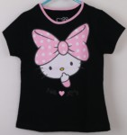kaos hello kitty black (1-6),disney