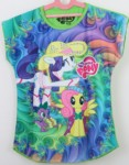 BATWING LITTLE PONY GREEN NEW MOTIF (4-14)
