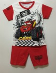 setelan car mcqueen monster truck red (1-6)