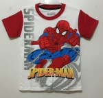 kaos spiderman white (1-6)marvel