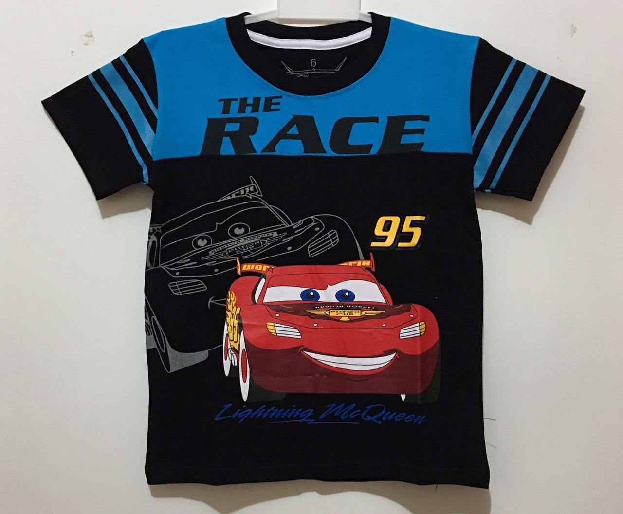 kaos mcqueen the race black
