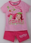 setelan strawberry shortcake pink (1-6) disney