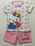 setelan hello kitty polkadot white (1-6),jk