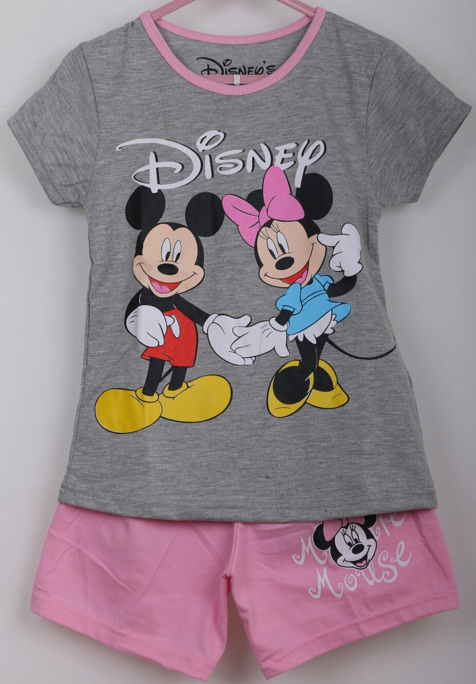 setelan mickey minnie abu