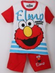 setelan elmo salur red (1-6) disney