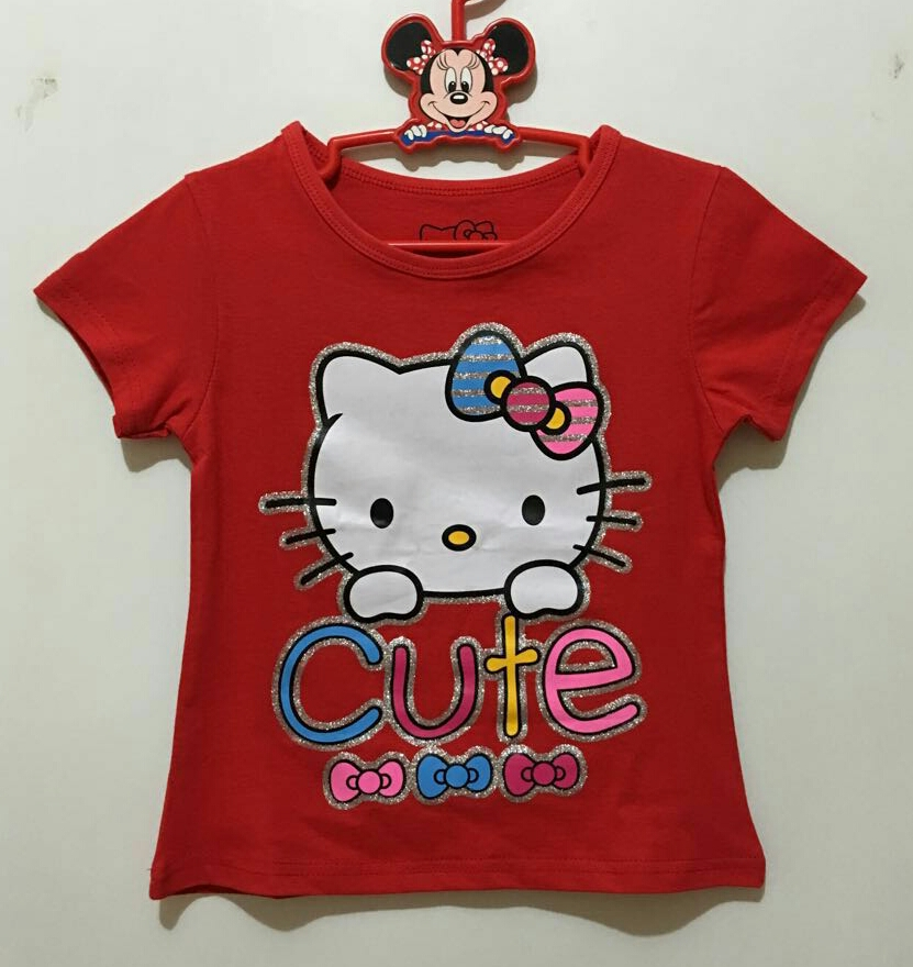 baju hello kitty cure red