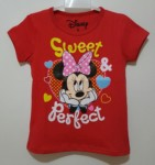 kaos minnie perfect sweet red(1-6)
