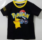 kaos anak pokemon go black (1-6) , disney