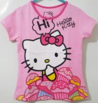 kaos Hello kitty cake pink (1-6) DISNEY