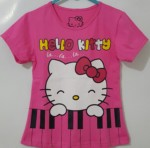 kaos hello kitty piano fanta ( 1-6)